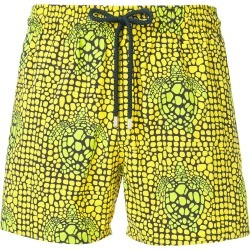 Vilebrequin turtle print swim shorts - Yellow found on Bargain Bro UK from FarFetch.com- UK