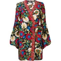Anjuna floral wrap mini dress - Red found on MODAPINS from FARFETCH.COM Australia for USD $454.30