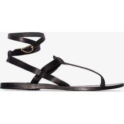 Ancient Greek Sandals Womens Ladies Black Estia Ankle Strap Sandals, Size: 37 found on MODAPINS from Browns Fashion for USD $169.59