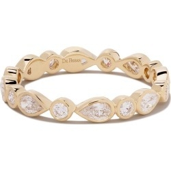 De Beers 18kt yellow gold Petal diamond band found on Bargain Bro India from FarFetch.com - US for $3000.00