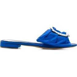 Alexandre Vauthier lola flat sandals - Blue found on MODAPINS from FarFetch.com- UK for USD $1110.98