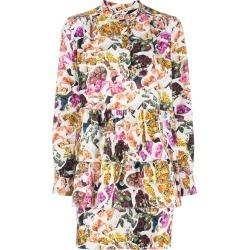 Adam Lippes printed layered dress - White found on MODAPINS from FarFetch.com- UK for USD $960.52