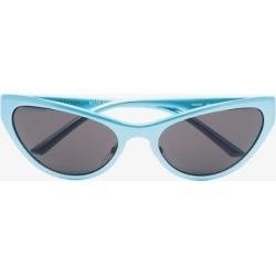Balenciaga Eyewear Mens Blue Cat Eye Sunglasses found on Bargain Bro UK from Browns Fashion