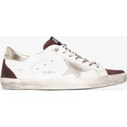Golden Goose Mens White Superstar Leather Sneakers found on Bargain Bro UK from Browns Fashion