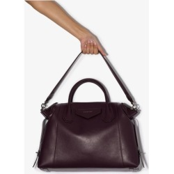 Givenchy Womens Purple Giv Antigona Soft Med Tote W Shldr Strp found on Bargain Bro UK from Browns Fashion