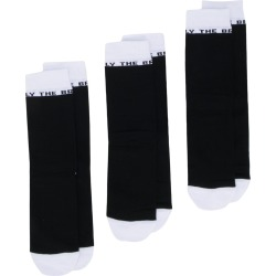 Diesel 'Only the Brave' 3 pack socks - Black found on Bargain Bro UK from FarFetch.com- UK