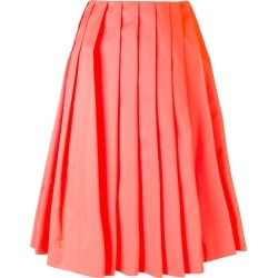 Prada pleated skirt - Yellow found on MODAPINS from FarFetch.com- UK for USD $623.15