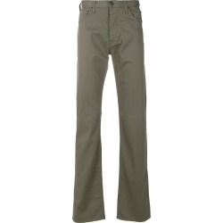 Armani Jeans straight-leg jeans - Green found on MODAPINS from FarFetch.com- UK for USD $127.99