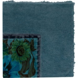 Avant Toi floral print scarf - Blue found on MODAPINS from FarFetch.com - US for USD $901.00