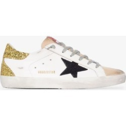 Golden Goose Womens White Superstar Sneakers found on Bargain Bro UK from Browns Fashion