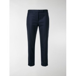 Thom Browne cropped tailored trousers found on Bargain Bro India from stefania mode for $940.00