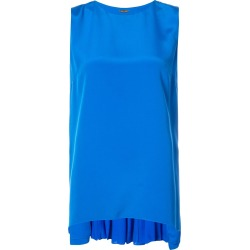 Adam Lippes pleated back tank top - Blue found on MODAPINS from FARFETCH.COM Australia for USD $1125.45