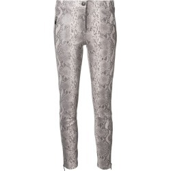 Arma low rise snakeskin skinny trousers - Grey found on MODAPINS from FarFetch.com - US for USD $701.00