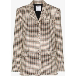 Area Womens Brown Men's Single-breasted Blazer found on MODAPINS from Browns Fashion for USD $1702.41