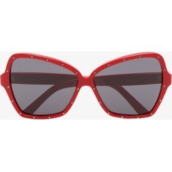 Celine Eyewear Red Butterfly Studded Sunglasses found on Bargain Bro UK from Browns Fashion