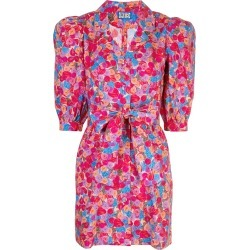 Lhd floral print belted shirt dress - PINK found on Bargain Bro India from FARFETCH.COM Australia for $617.46