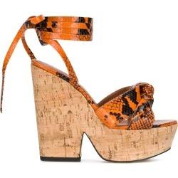 Paris Texas snake print 140mm sandals found on Bargain Bro UK from Eraldo