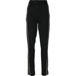 Saint Laurent tailored stripe trousers - Black found on MODAPINS from Farfetch:Linkshare:Affiliate:CPA:UK:UK for $2966.04
