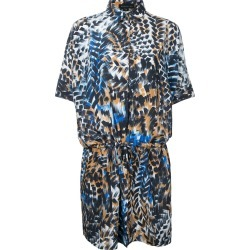 Barbara Bui printed drawstring shirt dress - Multicolour found on MODAPINS from FarFetch.com- UK for USD $791.44