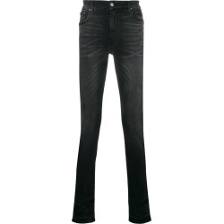 Amiri distressed slim-fit jeans - Black found on MODAPINS from FarFetch.com - US for USD $704.00