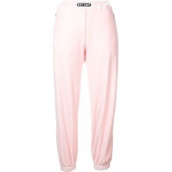 Barbara Bologna velvet joggers - Pink found on MODAPINS from FarFetch.com - US for USD $172.00