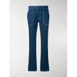 Chloé contrast stitched jeans found on Bargain Bro India from stefania mode for $448.00