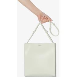 Jil Sander Womens Green Tangle Medium Leather Cross Body Bag found on Bargain Bro UK from Browns Fashion