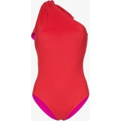 Araks Melika Reversible One Shoulder Swimsuit found on MODAPINS from Browns Fashion for USD $322.27