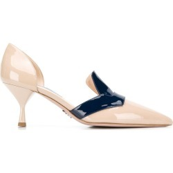 Prada heeled loafer pumps - NEUTRALS found on Bargain Bro India from FARFETCH.COM Australia for $870.52