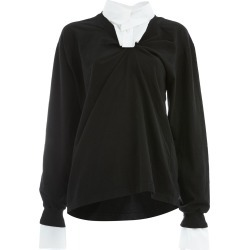 Aganovich combined shirt sweatshirt - Black found on MODAPINS from FarFetch.com- UK for USD $576.58