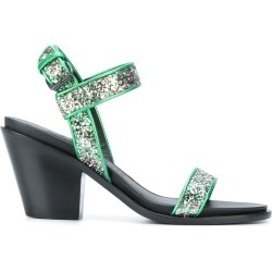 A.F.Vandevorst glitter strap standals - Green found on MODAPINS from FarFetch.com- UK for USD $485.95