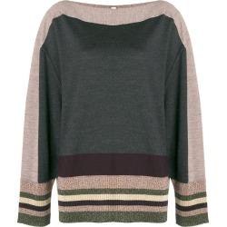 Antonio Marras stripe detail sweater - Grey found on MODAPINS from FarFetch.com - US for USD $258.00