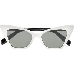 9545a6bb1b Saint Laurent Eyewear cat-eye sunglasses - White found on MODAPINS from  FarFetch.com