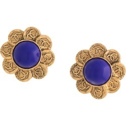 Chanel Vintage stones earrings - Gold found on MODAPINS from FarFetch.com- UK for USD $1208.04
