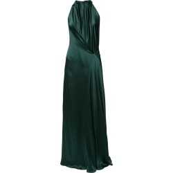 Bianca Spender Isabella draped gown - Green found on MODAPINS from FarFetch.com- UK for USD $1202.56