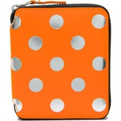 Comme Des Garçons Wallet polka dot zip wallet - Yellow found on MODAPINS from FARFETCH.COM Australia for USD $257.17