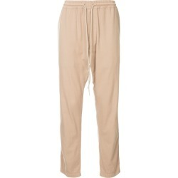 Bassike loose fit track trousers - Pink found on MODAPINS from FarFetch.com - US for USD $270.00