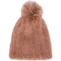 5751fb769c7 Yves Salomon Accessories knitted beanie - Pink   Purple found on MODAPINS  from FarFetch.com