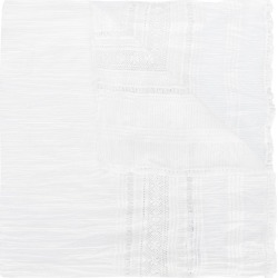 American Outfitters Kids TEEN embroidered scarf - White found on MODAPINS from FarFetch.com- UK for USD $83.58