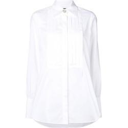 Alexa Chung pleated bib shirt - White found on MODAPINS from FARFETCH.COM Australia for USD $389.86