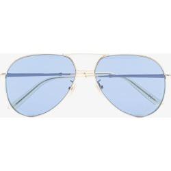 Gucci Eyewear Womens Blue Aviator Sunglasses found on Bargain Bro UK from Browns Fashion