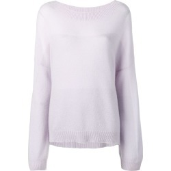 Agnona gradient lurex jumper - Purple found on MODAPINS from FarFetch.com - US for USD $1290.00