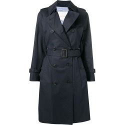 Mackintosh Ink Cotton Trench Coat LM-040F - Blue found on MODAPINS from FARFETCH.COM Australia for USD $781.19