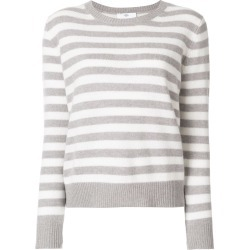 Allude striped jumper - Grey found on MODAPINS from FARFETCH.COM Australia for USD $424.57
