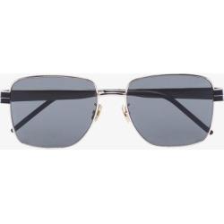 Saint Laurent Eyewear Womens Black Metal Square Sunglasses found on Bargain Bro UK from Browns Fashion