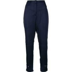 Barbara Bui tailored fitted trousers - Blue found on MODAPINS from FarFetch.com- UK for USD $458.88