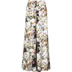 Adam Lippes floral print wide leg trousers - White found on MODAPINS from FarFetch.com - US for USD $1190.00