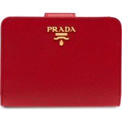 Prada Small Leather Wallet - Red found on Bargain Bro Philippines from FarFetch.com - US for $595.00