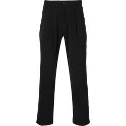Attachment cropped tailored trousers - Black found on MODAPINS from FARFETCH.COM Australia for USD $480.36