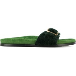 Avec Modération buckled slip-on sandals - Green found on MODAPINS from FarFetch.com - US for USD $296.00